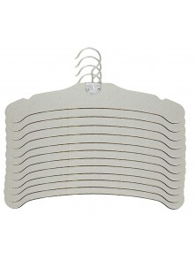"Dress form 13"" Paper Cardboard Hangers (12 pcs/box, 501D-A)"
