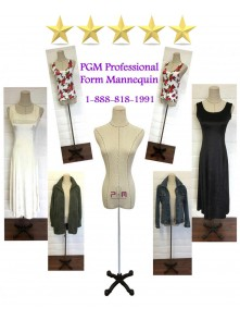 Female Professional Dress Form Mannequin (602G)