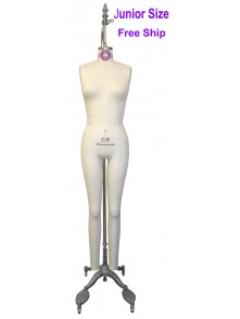 Size 5 Professional Junior Full Body Dress Form (605A)