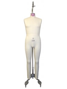 Industry Grade Mature Men Full Body Dress Form (608)