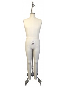Industry Grade Young Men Full Body Dress Form (608Y)