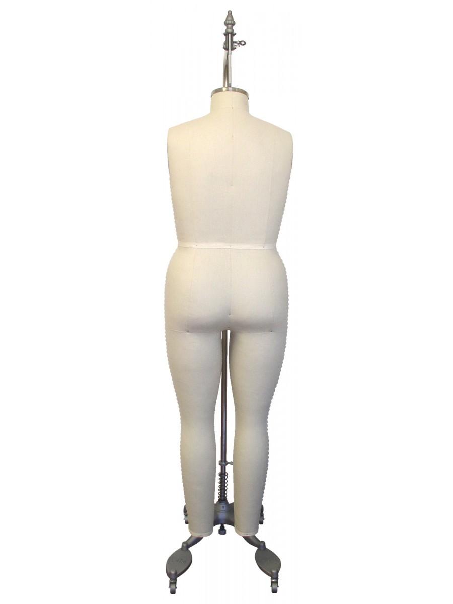 Industry Grade Large Women Plus Size Full Body Dress Form (612L)