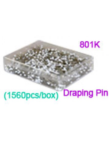 dress form Safety Draping Pin (801K, 1560pcs/box)