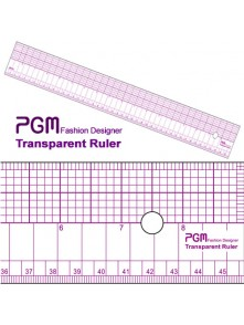 "Dress form PGM Pattern Grading Ruler 18""/48cm (808B)"