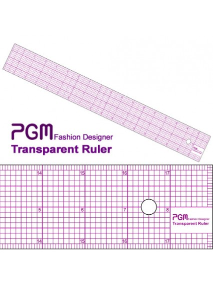 "dress form PGM Pattern Grading Rulers 18"" (808B-A)"