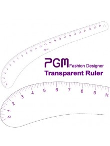 "Dress form PGM Hip Curve Ruler 24"" (808C)"