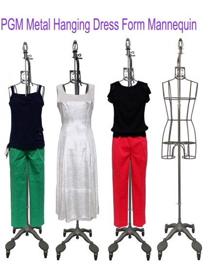 dress form Hanging Antique Metal Dress Form Display Mannequin (901C)