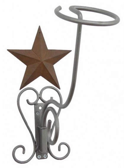 dress form Hat Racks Wall Mount w Barn Star (911G)