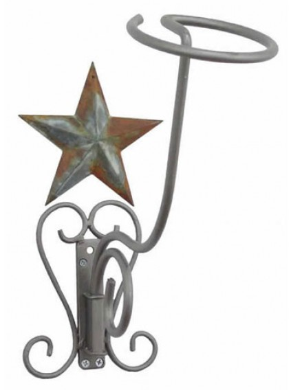 dress form Hat Racks Wall Mount w Barn Star (911H)