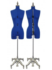 Adjustable Sewing Dress Forms (ADF601, Blue)
