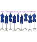 dress form Adjustable Sewing Dress Forms (ADF601, Blue)