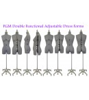 dress form Adjustable Sewing Dress Forms (ADF601, Grey)
