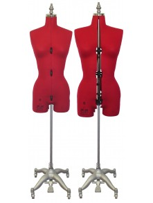 Adjustable Sewing Dress Forms (ADF601, Red)