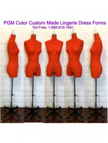 Dress form Custom Made Dye Color Dress Form