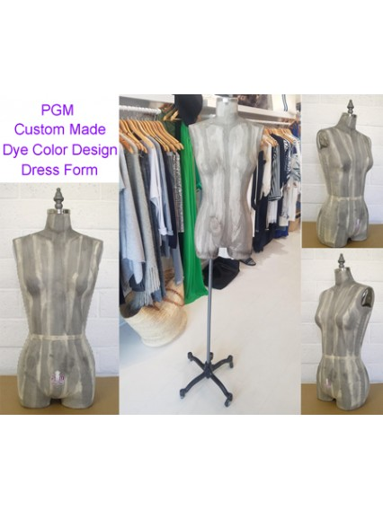 Dress Form Dye Color Custom Made