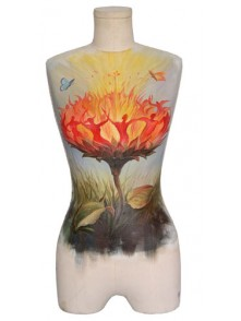 Dress form Oil Painting Dress Form Mannequin