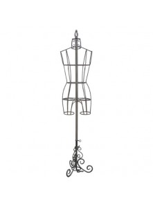 Dress form Antique Metal Dress Form Display (901B-A)