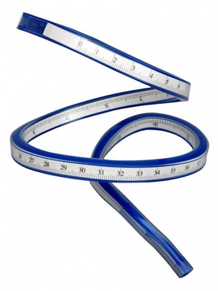 dress form PGM Flexible Curve Ruler 20inch/50cm (808E-B)