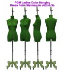 dress form PGM Ladies Color Hanging Dress Form Mannequin (602HLCB)