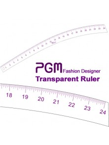 "Dress form PGM Hip Curve Ruler 24"" (808D)"