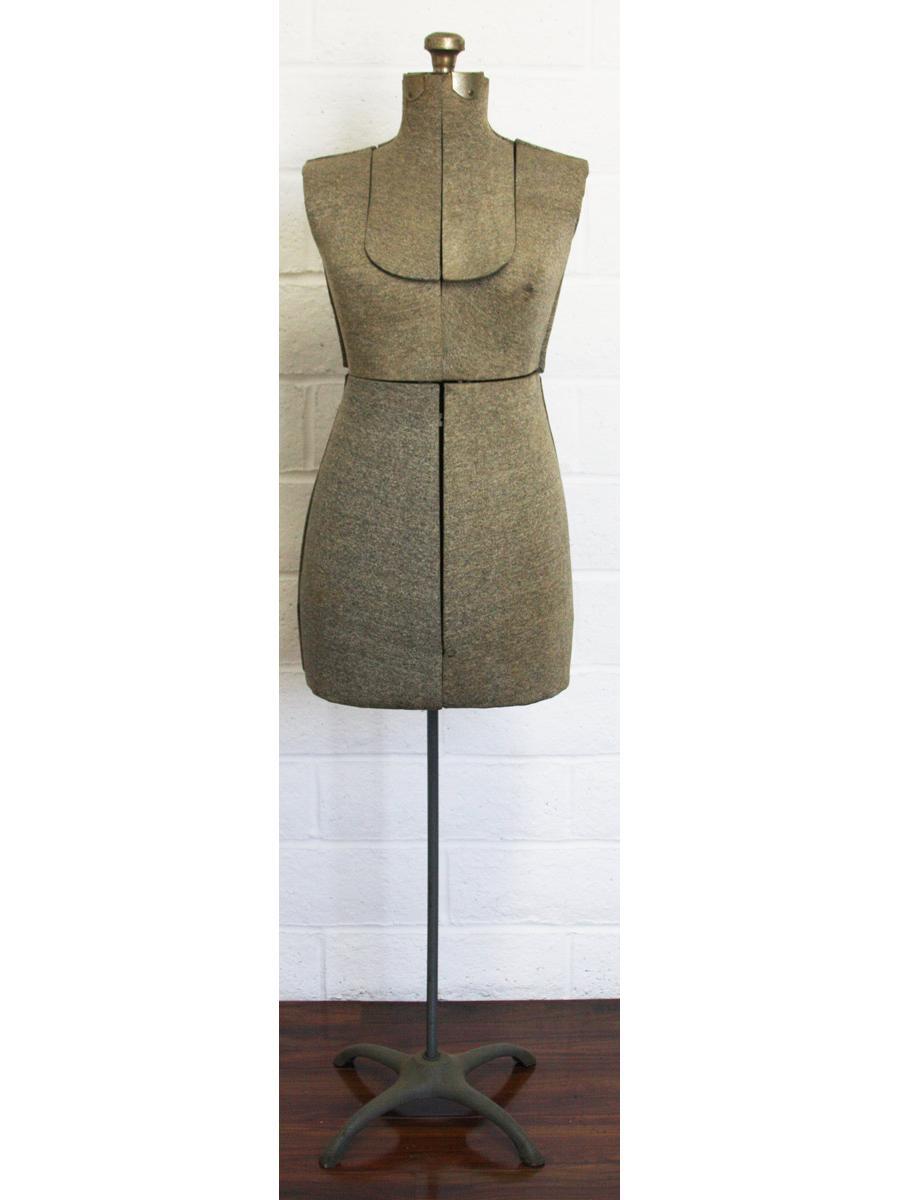 Vintage Dress Form Mannequin Antique