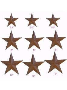 Rustic Barn Star (9pcs/set, 101-D)