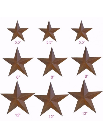 dress form Rustic Barn Star (9pcs/set, 101-D)