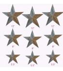 dress form Irregular Rustic Barn Star (9pcs/set, 102-D)
