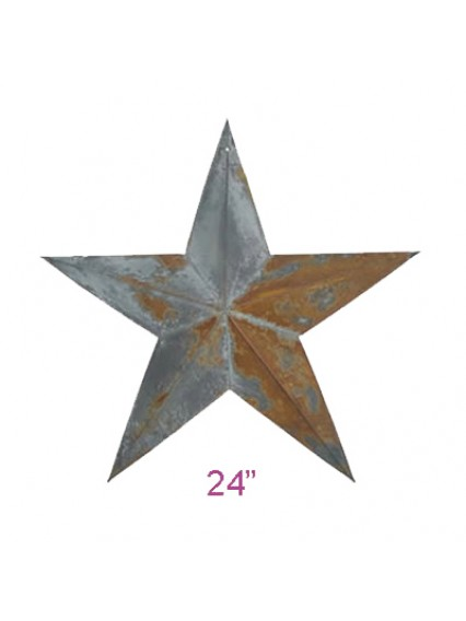 "dress form Irregular Rustic Barn Star (24"", 102-24)"