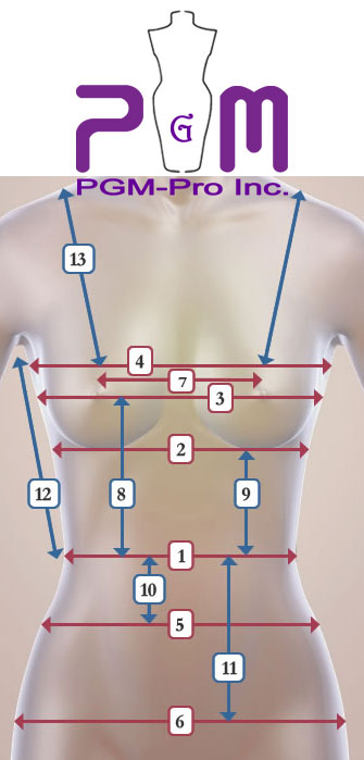 How to measure your Junior Body and Bra