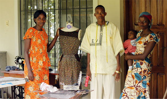 PGM Dress Form Education Sponsor Africa