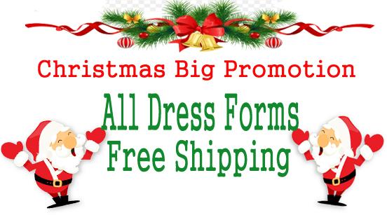 Dress Form USA Christmas Promotion Dress Forms