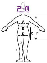 How to measure PGM Children Dress Form