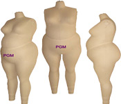 PGM Large Women Dress Form, Custom made special size dress form mannequin