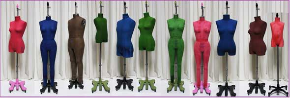 PGM Antique Color Dress Form Mannequin