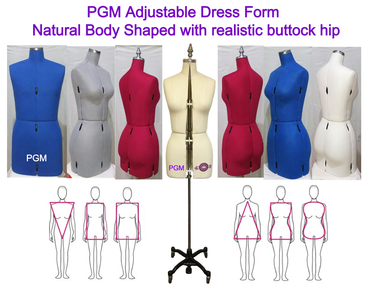 Family Sewing Dress Forms, Adjustable Dress Form, sewing mannequin
