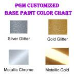 PGM Antique Dress Form Mannequin Gold Base Color Chart