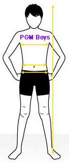 How to measure PGM Boys Dress Forms