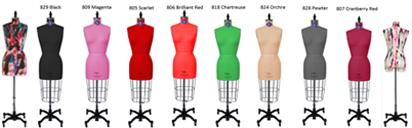 PGM Color Design Dress Form Mannequin