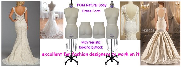 PGM Natural Body Dress Form