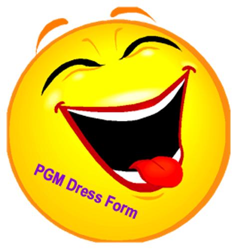 PGM Dress Form Summer Promotion Education Sponsor