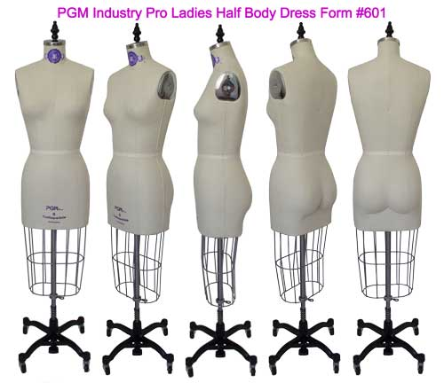 PGM Dress Forms Natural Body Shaped with realistic buttock