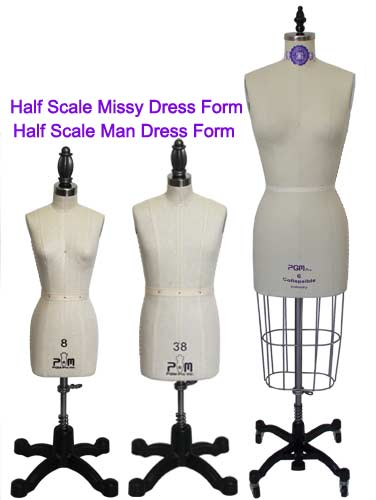 PGM Half Scale Dress Forms