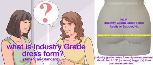 #1 Dress Form Brand in USA Professional Dress Forms Industry Dress Form