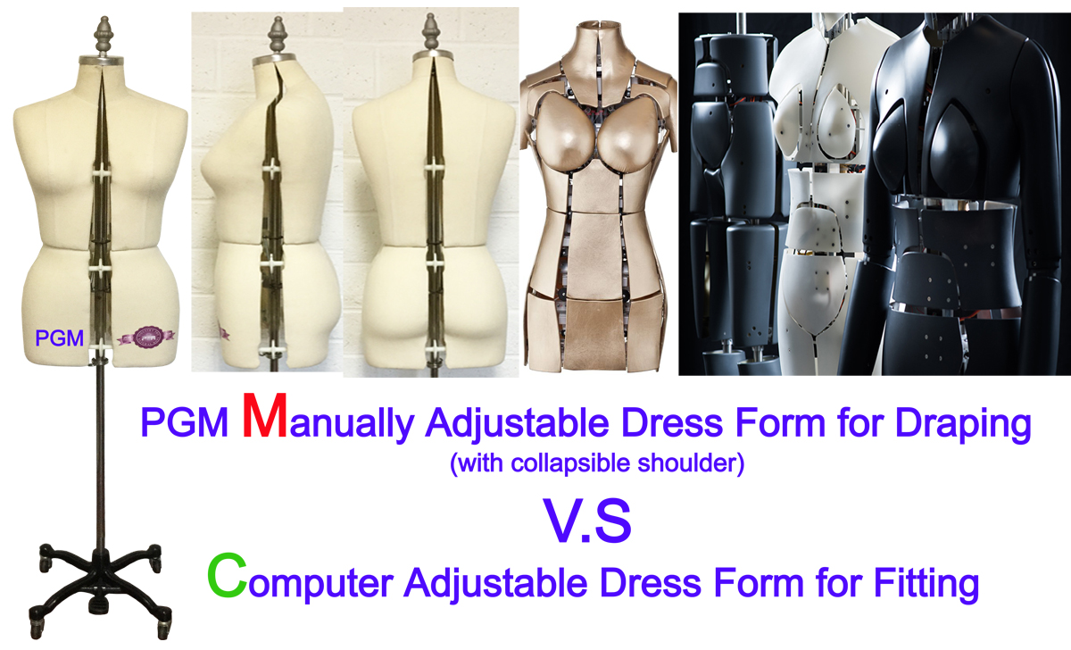 Sewing Dress Form Mannequin, Fitting Dress Forms, Adjustable Fitting Dress Form, Sewing Pattern