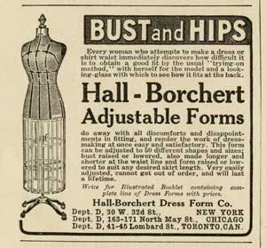 Adjustable Dress Form History