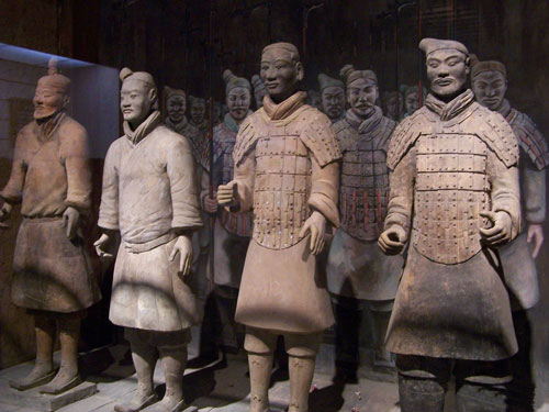 Chinese Mannequin, Terra Cotta Warrious Mannequin, Army Mannequin